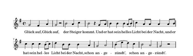 Das Steigerlied