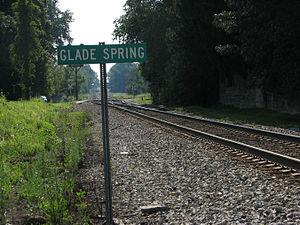 Glade Spring, Virginia - Image: Glade Spring Va