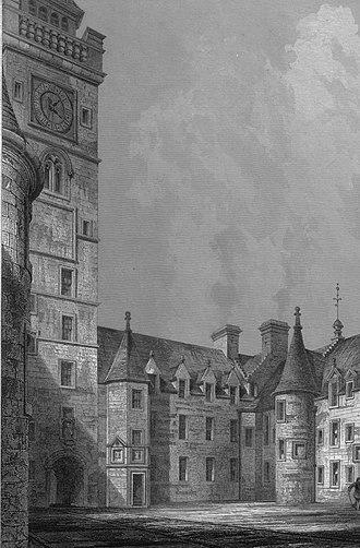 Auchans Castle, Ayrshire - A view of Glasgow's old university buildings