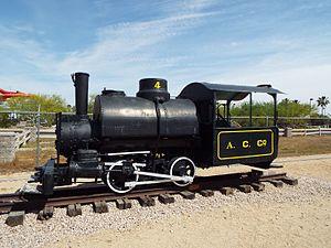 Adobe Mountain Desert Park - Image: Glendale Sahuaro Central Railroad Museum Porter 0 4 0 1887