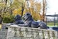 Gliwice - Park Chopina, Lwy pod Palmiarnią - panoramio (4).jpg
