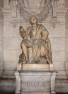 Gluck-Statue im Pariser Opéra (Quelle: Wikimedia)