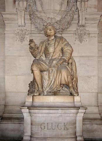 Статуя К.В.Глюка в Гранд-Опера