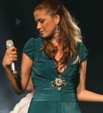 Karolina Gočeva - Image: Goceva ESC2007 portrait