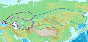 Third Perso-Turkic War - Image: Gokturkut