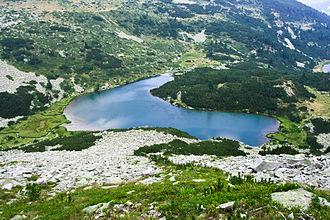 Vasilashki Lakes - The Upper Vasilashko Lake.