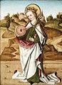 Gotisches Tafelbild mit der heiligen Christina von Bolsena.jpg