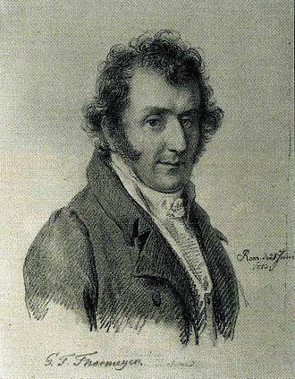 Gottlob Friedrich Thormeyer - Thormeyer 1813