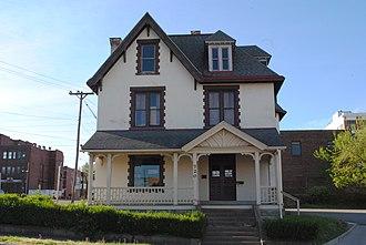 Gould House (Parkersburg, West Virginia) - Image: Gould House Parkersburg