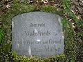 Grab von Hund Marke (Bayreuth, 04.05.06, Wahnfriedhaus).jpg