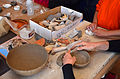 Grand Canyon Archaeology Day 2013 Making a Clay Pot 3504 - Flickr - Grand Canyon NPS.jpg
