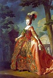 Portrait of Maria Feodorovna by Alexander Roslin. (Source: Wikimedia)