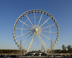 Roue de Paris - Roue de Paris on the Place de la Concorde, Paris, France