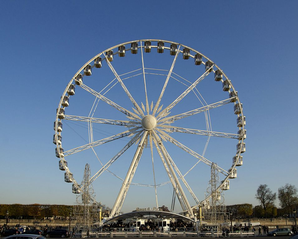 File grande roue de paris wikimedia commons for Plus grand jardin de paris