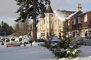 Grantown-on-Spey - Image: Grantown on Spey Winter
