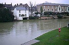 Rzeka Great Ouse w St Neots