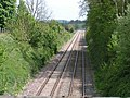 Great Western main line at Milkhouse Water, near Pewsey - geograph.org.uk - 1323864.jpg