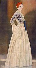 Type of Amalia dress (Source: Wikimedia)
