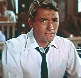 Gregory Peck - Gregory Peck in the Designing Woman trailer 1957