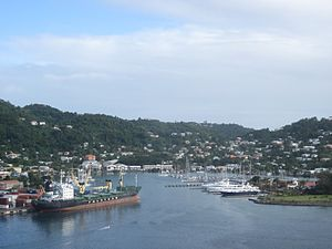 St. George's, Grenada - Town of St. George's