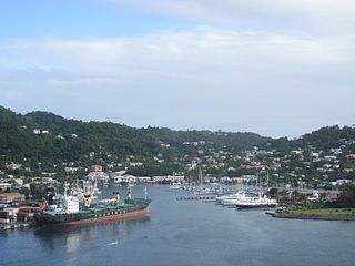 Town in Saint George, Grenada