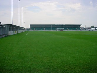 Raydale Park - Image: Gretna Football Club ground 2