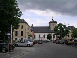 Grevenmacher - Image: Grevenmacher Marktplatz