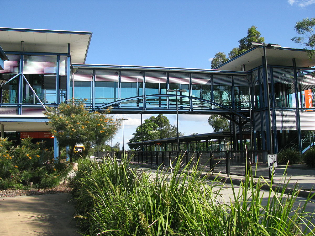 Griffith University busway station - Wikipedia