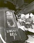 Grissom Climbs into Liberty Bell 7 - GPN-2002-000048.jpg