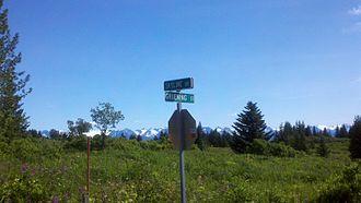 Ernest Gruening - Gruening Street in Homer, one of several communities throughout Alaska which has a street named for Gruening.