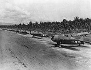 Grumman F4Fs on Guadalcanal 1942 NAN1-93