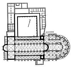 Grundriss Dom St. Maria