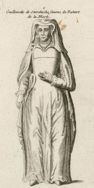 Guillemette de Sarrebruck - Guillemette de Sarrebruck (1490-1571)