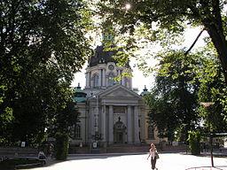 Gustaf Vasa kirke i juli 2003