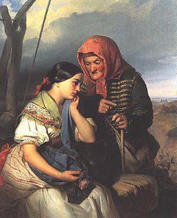 Györgyi, Alajos - Consolation (1852)