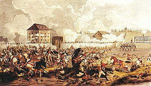 Franjo Jelačić - Battle of Raab