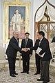 H.E. Mr. Eugene Hutchinson เอกอัครราชทูตไอร์แลนด์ประจำ - Flickr - Abhisit Vejjajiva (1).jpg