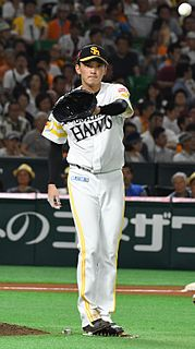 Nao Higashihama Japanese baseball player