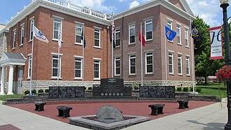 Highland County Courthouse (Ohio) - Image: HCC1