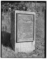 HISTORICAL MARKER AT HARLEMVILLE ROAD, VIEW SE. - Taconic State Parkway, Poughkeepsie, Dutchess County, NY HAER NY,14-POKEP.V,1-92.tif