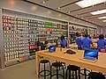 HK CWB Hysan Place mall shop Apple Store interior products Mar-2013.JPG
