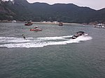 HK Islands District boat tour view spk Oct-2012 (31) fast boat.jpg