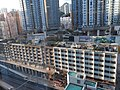 HK KT Kwun Tong APM mall view 裕民坊 Yue Man Square buildings evening July 2020 SS2 04.jpg