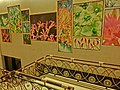 HK North Point 北角 城市花園 City Garden Hotel stairs n wall pictures 30-Mar-2013.JPG