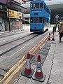 HK SW 上環 Sheung Wan 急庇利街 Clevely Street tram July 2021 SS2.jpg