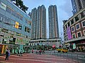 HK Tsuen Wan Plaza 海盛路 Hoi Shing Road 萬景峰 Vision City Tower 灣景廣場 Skyline Plaza May-2013.JPG