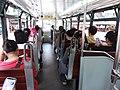 HK tram tour upper deck interior visitors August 2019 SSG 02.jpg