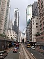HK tram view Shek Tong Tsui to Sai Ying Pun Des Voeux Road West Sheung Wan Des Voeux Road Central September 2020 SS2 19.jpg