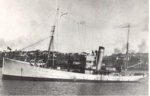 South African Navy - SAS Immortelle, circa 1935