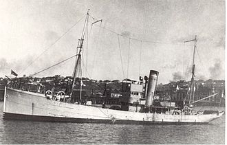 South African Navy - SAS Immortelle, circa 1935